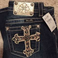 Miss Me jeans Dark wash Miss me jeans. Never worn.  Brand new Miss Me Jeans Boot Cut