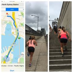 Some people go to the pub on a Friday lunch.... And some people run across the harbour bridge  first time running  over the bridge AND running consistently for over 2ks (ran one way over the bridge then walked back....) thanks to my coaches Penny and @jessy_bella for the motivation! #feelbetterforit #notarunner #sydneyharbourbridge #shadesofsalmon by sophfairyadams http://ift.tt/1NRMbNv