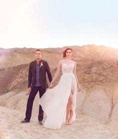 gorgeous desert elopement shot by Chelsea Nicole Photography