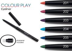 Inglot Introduces Colour Play Eyeliner & New Satin Rainbow Eyeshadows - Official Product Information & Photos - Blushing Noir Makeup Geek, Beauty Makeup, Buy Cosmetics Online, Rainbow Eyes, Makeup Must Haves, All About Eyes, Makeup Collection, Colorful Pictures, Eyeliner
