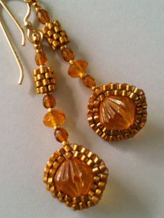 aretes on Pinterest | Beaded Earrings, Brick Stitch and Peyote ...
