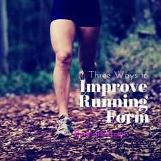 This is part two of a two-part series on running form analysis and what you can do to help improve your running form. You can find part one HERE. Last week I shared before and after photos of my running form analysis. There was a significant amount of improvement both in my cadence, heel strike and overstriding. There were several things I focused on in the three week period between the before and after analysis: increasing cadence, form drills and glute and hip exercises. 1. Cadence…