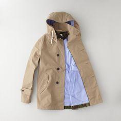 Soutien Collar Coat by Nanamica