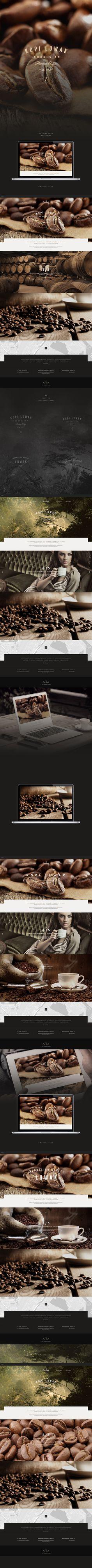 Kopi Luwak, design, web, branding,