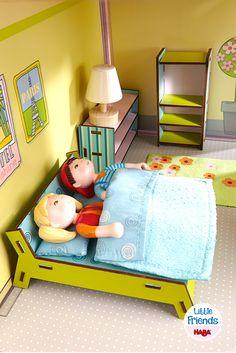 Little Friends – Puppenhaus-Möbel Schlafzimmer (Artikelnummer 300506)