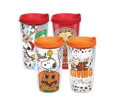 Food & Beverages Coffee Brilliant Peanuts Snoopy Melamine Tumbler Set