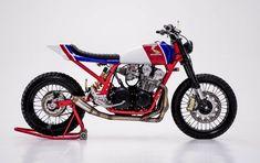 Honda CB750 Tracker por Herencia Custom Garage