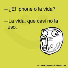 Chistes cortos: el iphone #Spanish