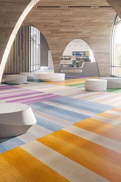 NeoCon's Standout Flooring Trends