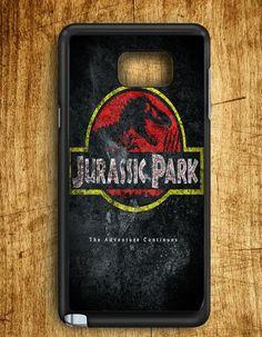 Jurassic Park Dinosaurs Samsung Galaxy Note Edge Case