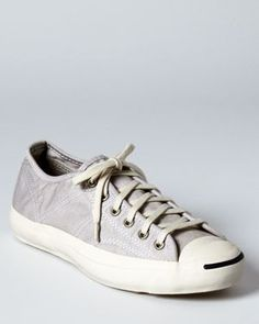 f12318ac11e4 Converse Jack Purcell Sneakers clasic but the black mark makes it modern. Converse  Jack Purcell