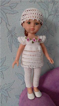 ПАРНИковый топик / Paola Reina, Antonio Juan и другие испанские куклы / Бэйбики. Куклы фото. Одежда для кукол
