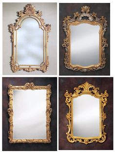 antique mirror...i want one!!!