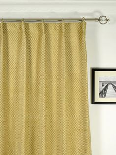 Drapes Pinch Pleat Curtain Rods