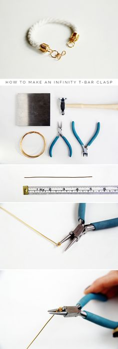 Fall For DIY Infinity T-Bar Clasp copy
