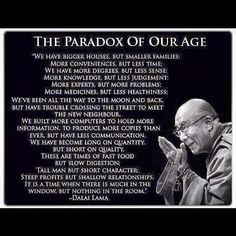 Dalai Lama quote Quotable Quotes, Wisdom Quotes, Quotes To Live By, Life Quotes, Dhali Lama Quotes, Paradox Quotes, Zen Quotes, Profound Quotes, Change Quotes