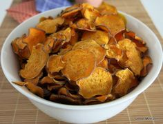 Sweet Potato Chips Baked to Perfection - The Dinner-Mom