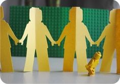 Lego Kirigami