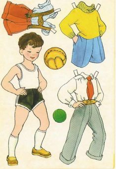 Fußball WM 2010 * 1500 free paper dolls at Arielle Gabriel's The International Paper Doll Society and also free paper dolls at The China Adventures of Arielle Gabriel *