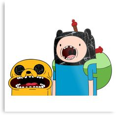 Adventure Time Jack and Finn