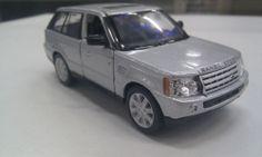 RANGE ROVER SPORT silver kinsmart TOY model 1/38 scale NEW diecast Car present