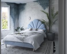 The New Art Deco & Art Nouveau Modern Style, Art nouveau inspired bed