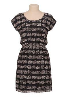 Elephant dress.