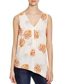 Daniel Rainn Floral Print Top | Bloomingdale's