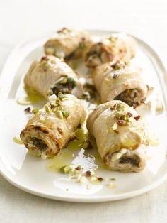Recept voor opgerolde kalkoenfilet | njam!
