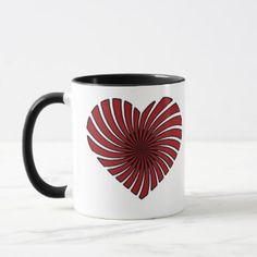 Valentine Special Combo Mug at Just Made by Zazzle off with code Valentine Special, Tea Cups, Coffee Mugs, Tableware, How To Make, Gifts, Design, Dinnerware, Presents