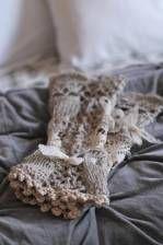 Crochet glovelettes