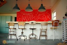 collection of bar stools