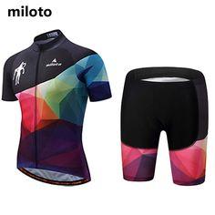 New 2017 Men MTB Clothing Short Summer Cycling Shirts and Bike Bicycle  Shorts GEL Pad Reflect 7e7eef319