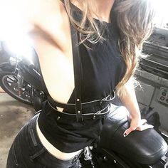 #goldendustharness  http://www.etsy.com/shop/GoldenDustStuff #leatherharness #bodyharness #bodyjewelry #harness #goldendust #leather #leatherjewelry #fashion #harnessbra #luxury #leathergoods #newyork #ootd #newyorkfashion #besexy #sexy #fetishes #photooftheday #fetish #fetishfashion #fashiondesigner #allblack #leatherwork #fashiondiaries #fashionable #luxurylingerie #handcrafted #classy #szelki www.golden-dust.com