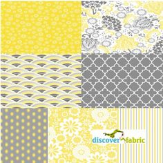 Evening Blooms 7 Piece Fat Quarter Bundle In by discoverfabric, $21.00