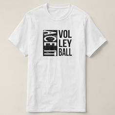 Shop Ace It Volleyball T-Shirt created by black_white_shop. Volleyball T Shirt Designs, T-shirt Slogan, Watch Your Words, Sport T Shirt, White Shop, Short Sleeve Tee, Shirt Style, Jokes, T Shirts For Women