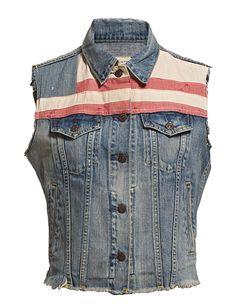 Denim Ralph Lauren Vest, Denim And Supply, Designer Wear, Shop Now, Sunday, Jackets, How To Wear, Shopping, Clothes