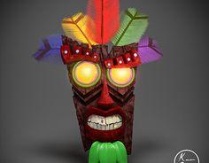 """Check out new work on my @Behance portfolio: """"Estilização, Aku-Aku do jogo Crash Bandicoot"""" http://be.net/gallery/54760509/Estilizacao-Aku-Aku-do-jogo-Crash-Bandicoot"""