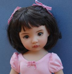 "Dianna Effner 13"" Vinyl Little Darling""Rachel""Kuwahi Dolls"