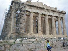 saludos desde el Partenón, Atenas, Grecia Louvre, Building, Travel, Athens Greece, Places, Viajes, Buildings, Destinations, Traveling