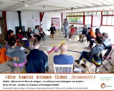 Atelier Rêve du dragon Bretagne 2016 Université Merre & Mer_Dragon dreaming France*_Transition_Morbihan