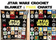 Hi everybody Thanks for your nice comments on my Star Wars blanket The charts are made (or modified) for each squares are now online on my blog : www.ahookamigurumi.com/en/star… May the...