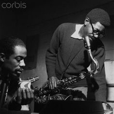 Eric Dolphy and Joe Henderson All About Jazz, All That Jazz, Jazz Artists, Jazz Musicians, Music Like, My Music, Kenny Dorham, Eric Dolphy, Joe Henderson