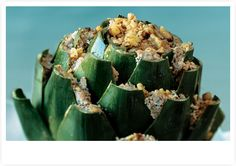 Stuffed Artichokes Recipe from: Holiday Entertaining - The 2012 Host's Guide