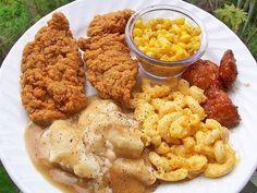 Country dinner Mmnn