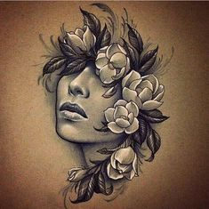 52 ideas for tattoo sleeve sketch draw faces Tatoo Art, Arm Tattoo, Body Art Tattoos, Sleeve Tattoos, Tattoo Sketches, Tattoo Drawings, Drawing Sketches, Tattoo Gesicht, Jagua Henna