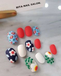 We've assembled several of the finest nail art designs. You should definitely check them all out. We've assembled several of the finest nail art designs. You should definitely check them all out. Cute Nail Art, Cute Nails, Pretty Nails, Toe Nail Color, Nail Colors, Spring Nails, Summer Nails, Diy Nails, Manicure