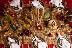 Decoração com velas/ mesa árabe/ candles decor tablescape