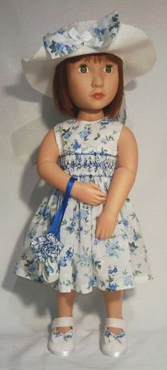 A Girl for all time hand made dress hat shoes and by Gwendollys