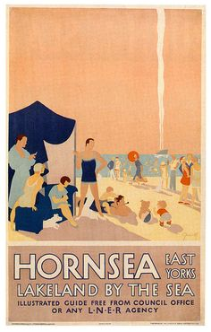 Imperial Airways Fly Through Europe 1935 vintage travel poster Affiches de voyage vintage travel poster Beyond frame worthy. Posters Uk, Railway Posters, Poster Ads, Poster Prints, Vintage Travel Posters, Vintage Ads, Beach Trip, Beach Uk, Hawaii Beach